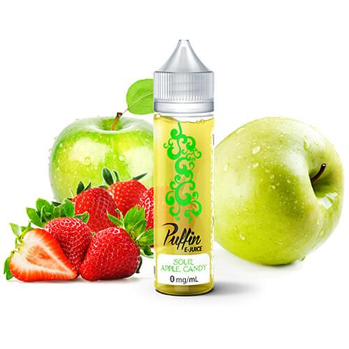 Puffin E-Juice - Sour Apple Candy - 60ml / 0mg