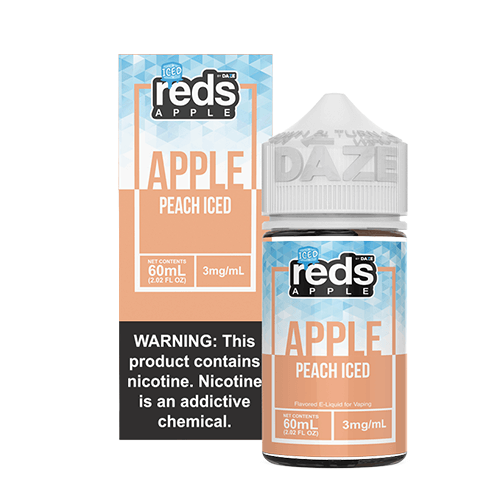 Reds Apple EJuice - Reds Apple Peach ICED - 60ml / 12mg