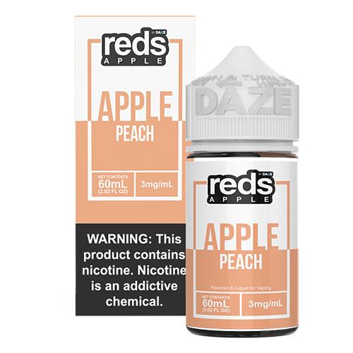 Reds Apple EJuice - Reds Apple Peach - 60ml / 3mg