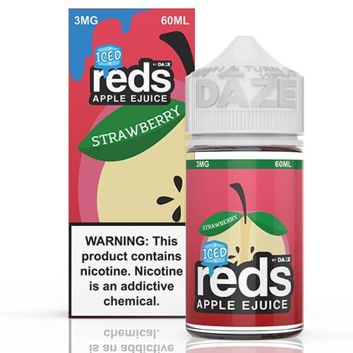 Reds Apple EJuice - Reds Strawberry ICED - 60ml / 3mg