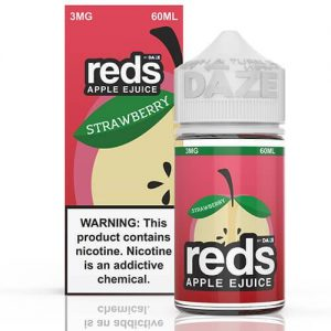 Reds Apple EJuice - Reds Strawberry - 60ml / 3mg