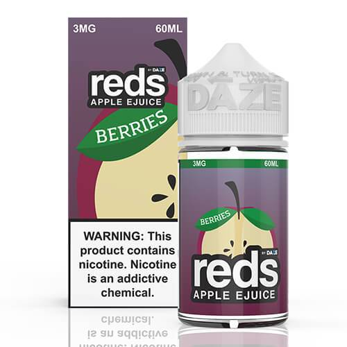 Reds Apple EJuice - Reds Berries - 60ml / 3mg