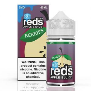 Reds Apple EJuice - Reds Berries ICED - 60ml / 0mg