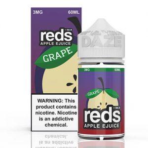 Reds Apple EJuice - Reds Grape - 60ml / 0mg