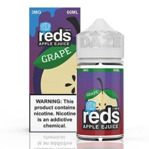 Reds Apple EJuice - Reds Grape Iced - 60ml / 3mg