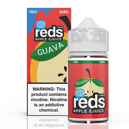 Reds Apple EJuice - Reds Guava ICED - 60ml / 0mg