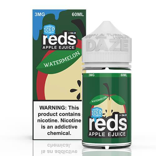 Reds Apple EJuice - Reds Watermelon Iced - 60ml / 0mg