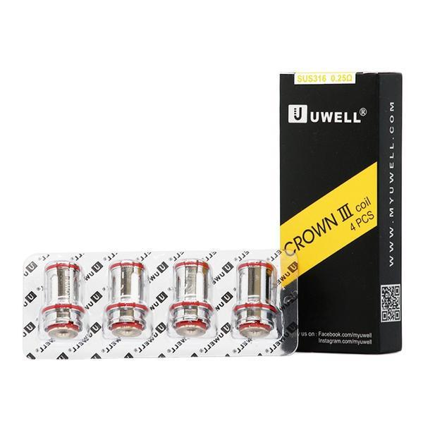 Uwell Crown V3 Coil (4 Pack) - 0.5 ohm