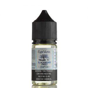 Ripe Vapes Synthetic Saltz - Blackberry Freez - 30ml / 50mg