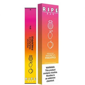 Ripe Bars - Disposable Vape Device - Peachy Mango Pineapple - Single / 50mg