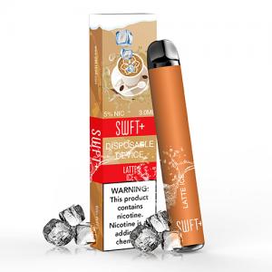 SWFT Bar Plus - Disposable Vape Device - Latte ICE - Single / 50mg
