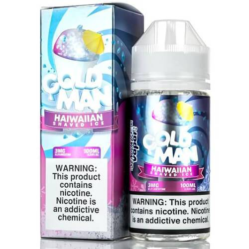 Sengoku Vapor - Cold Man - 100ml / 6mg