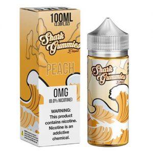 Shark Gummies E-Liquid - Peach - 100ml / 0mg