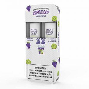 Side Bae - Disposable Vape Device Twin Pack - Iced Grape Kiwi - Twin Pack / 50mg