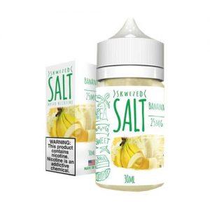 Skwezed eJuice SALTS - Banana - 30ml / 50mg