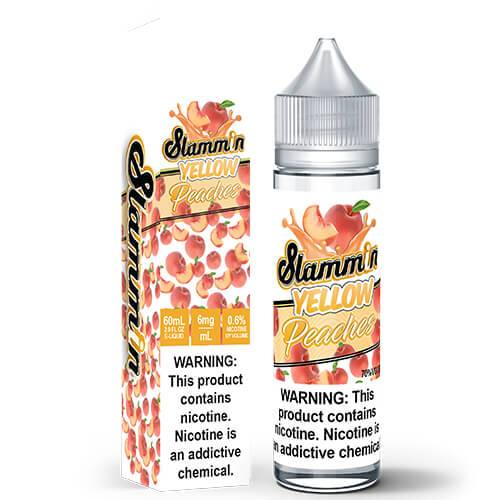 Slammin e-Liquid - Slammin Peach - 60ml / 6mg