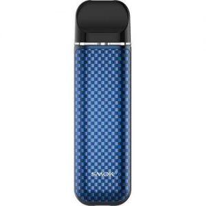 SMOK Novo 3 25W Pod System Starter Kit 800mAh - Blue Carbon Fiber