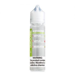 Smoozie Premium E-Liquid - Awesome Apple Sour - 60ml / 3mg