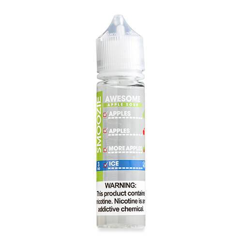 Smoozie Premium E-Liquid - Awesome Apple Sour ICE - 60ml / 3mg
