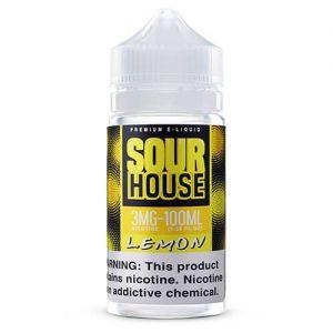 Sour House by The Neighborhood - Sour Lemon - 100ml / 3mg
