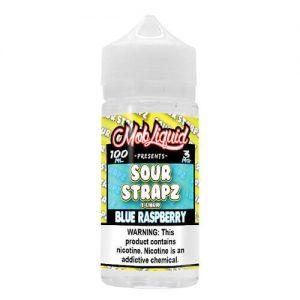 Sour Strapz eLiquid - Blue Raspberry - 100ml / 6mg