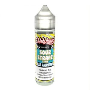 Sour Strapz eLiquid - Blue Raspberry - 60ml / 0mg
