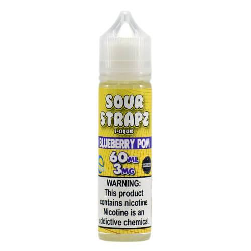 Sour Strapz eLiquid - Blue Pomegranate - 60ml / 3mg