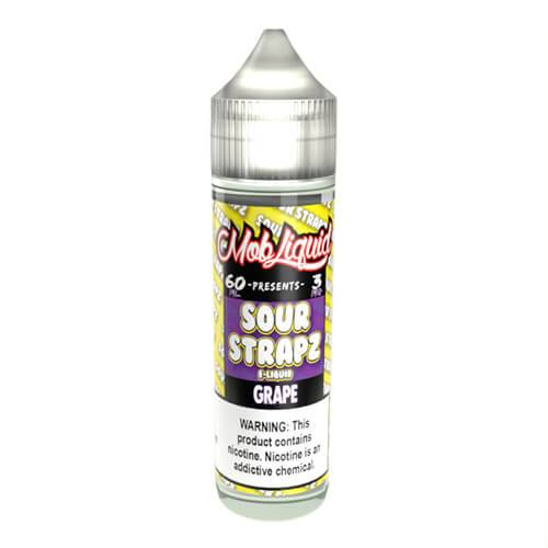Sour Strapz eLiquid - Grape - 60ml / 3mg