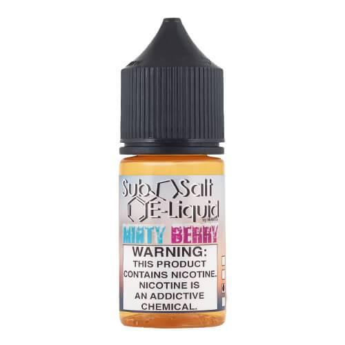SubSalt E-Liquid - Minty Berry - 30ml / 10mg