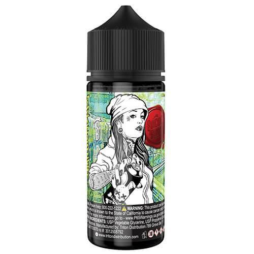 Suicide Bunny Premium E-Liquid - Wanderlust - 120ml / 12mg