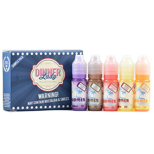 Summer Holidays by Dinner Lady - 10ml Sample Pack - 10ml / 3mg