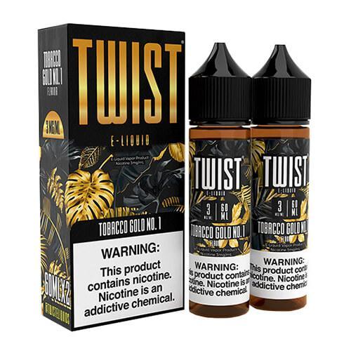 Twist E-Liquids - Tobacco Gold No. 1 - 2x60ml / 18mg