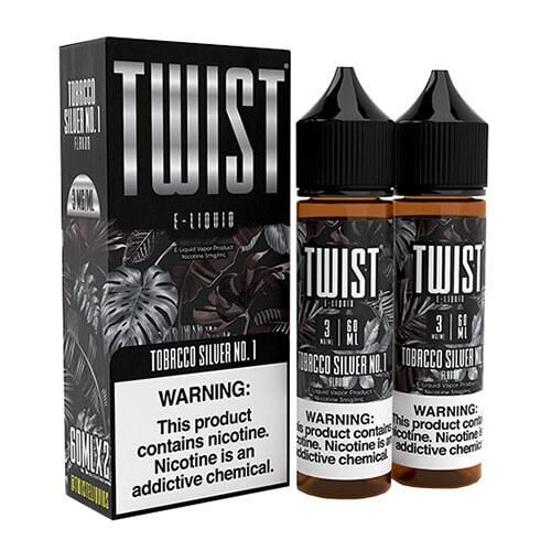 Twist E-Liquids - Tobacco Silver No. 1 - 2x60ml / 6mg