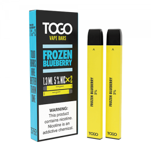 TWST TOGO - Disposable Vape Device Twin Pack - Frozen Blueberry - 2 Pack / 50mg