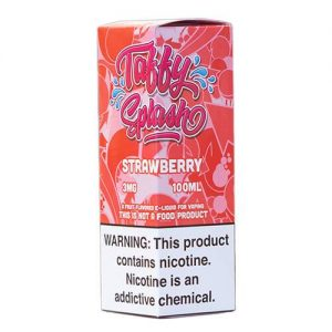 Taffy Splash - Strawberry - 100ml / 0mg