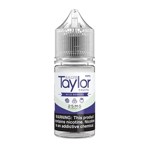 Taylor eLiquid SALTS - Wild Berries - 30ml / 25mg