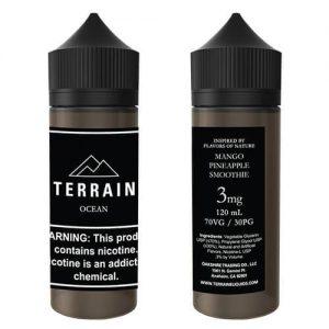 Terrain E-Liquids - Ocean - 120ml / 0mg