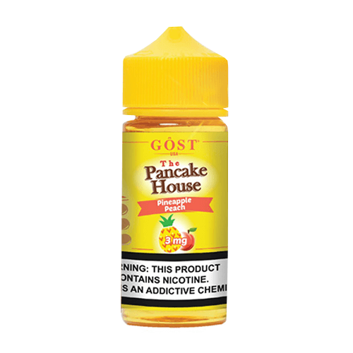 The Pancake House by Gost Vapor - Pineapple Peach - 100ml / 3mg