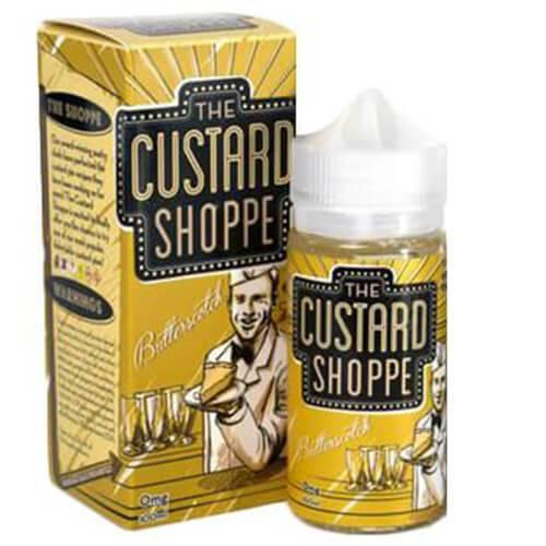 The Custard Shoppe - Butterscotch - 100ml - 100ml / 6mg