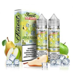 Finest E-Liquid Fruit Edition On Ice - Apple Pearadise ICE - 2x60ml / 3mg
