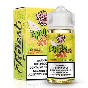 Finest Sweet & Sour Eliquids - Apple Peach Sour - 100ml / 0mg