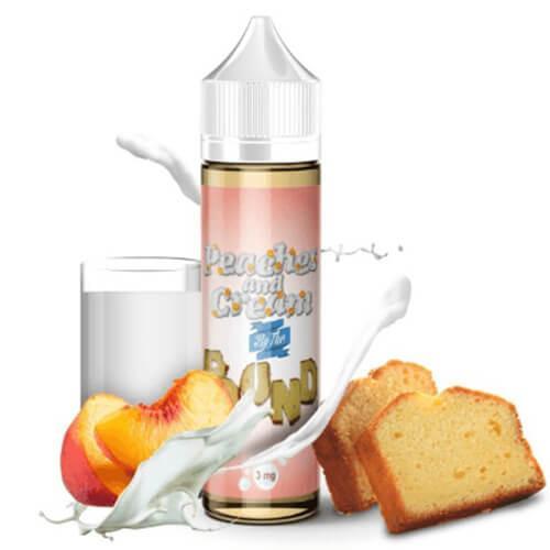 By The Pound E-Liquid - Peaches and Cream - 60ml - 60ml / 3mg