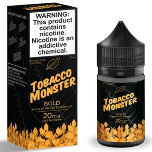 Tobacco Monster eJuice SALT - Bold - 30ml / 60mg