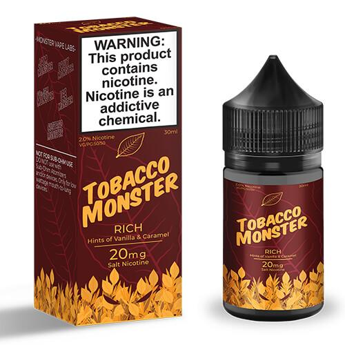 Tobacco Monster eJuice - Rich - 2x30ml / 0mg