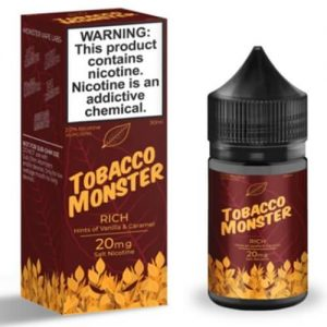 Tobacco Monster eJuice SALT - Rich - 30ml / 20mg