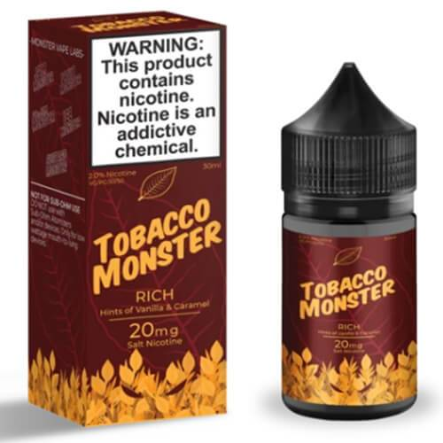 Tobacco Monster eJuice SALT - Rich - 30ml / 20mg
