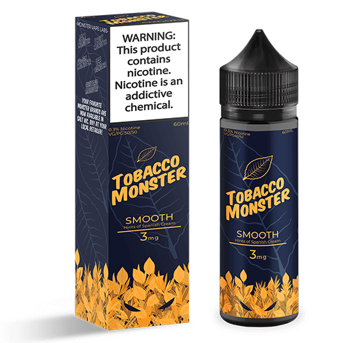 Tobacco Monster eJuice - Smooth - 60ml / 3mg