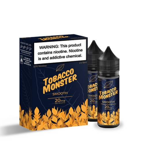 Tobacco Monster eJuice SALT - Smooth - 30ml / 40mg