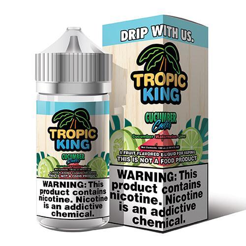 Tropic King eJuice - Cucumber Cooler - 100ml / 0mg