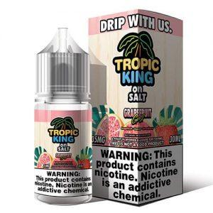 Tropic King eJuice On Salt - Grapefruit Gust Salt - 30ml / 50mg